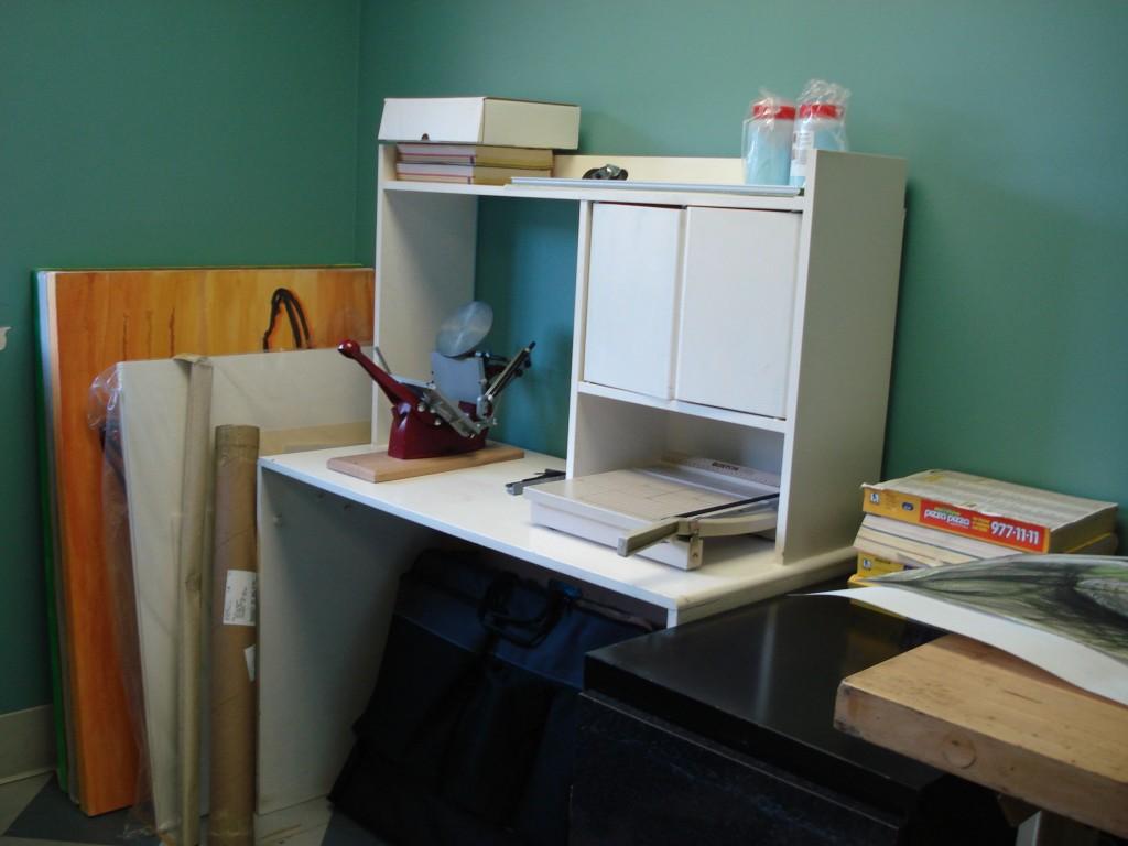 Bookbinding/Letterpress Station