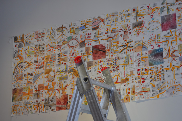 Cartography of Persistence (2011) Installing