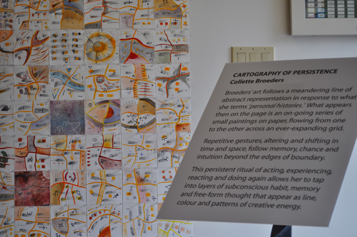Cartography of Persistence (2011) Installation View