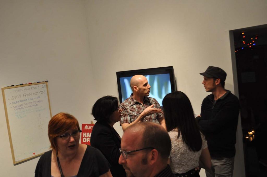 Occupy Exhibit Reception