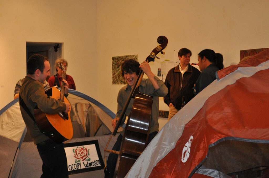 Occupy Exhibit Reception
