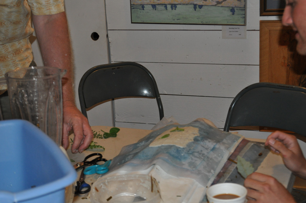 Papermaking Workshop 2012