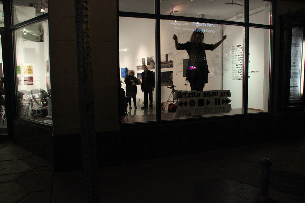 Binary Translations No. 2 (Impermanent Drawing Performance)