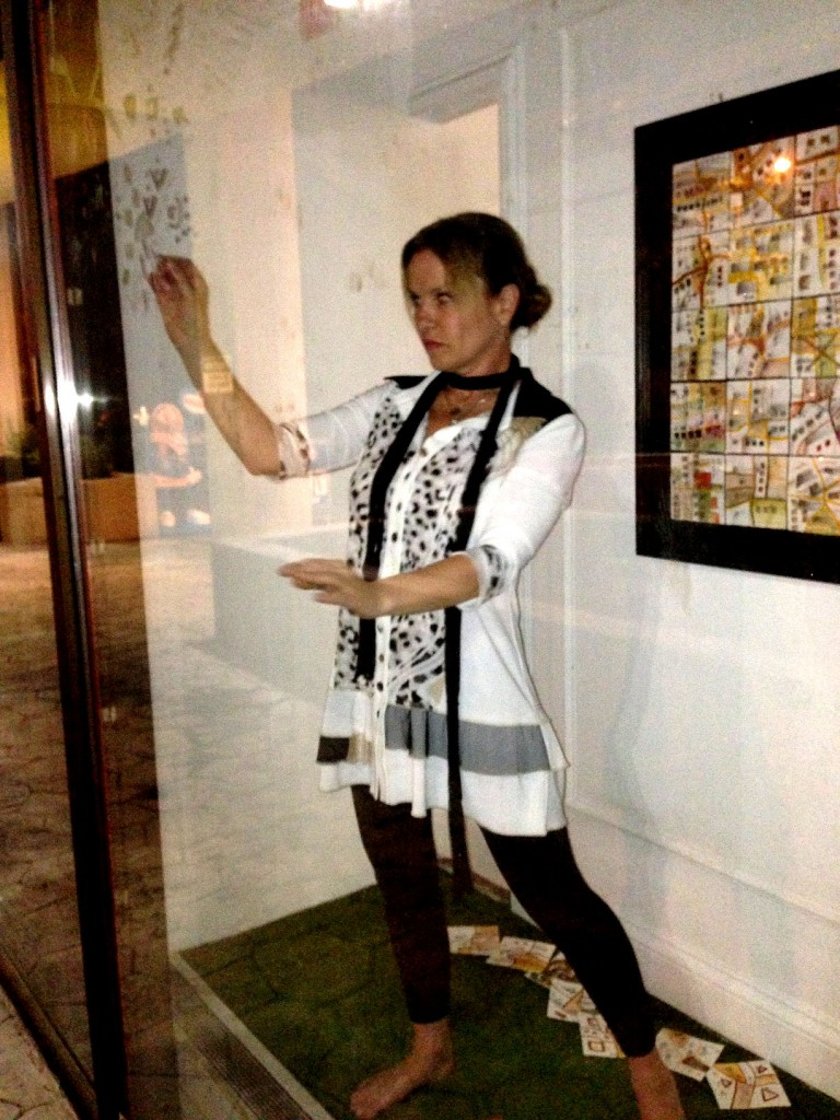 Cartography of Persistence (Impermanent Drawing - Performance)